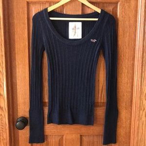 Hollister Logo Sweater - Size L
